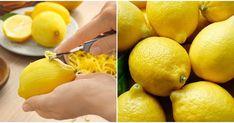 Limon kabuğunu çöpe mi atıyorsunuz? Limon kabuğunun faydalarını ve kullanımlarını gördükten sonra bir daha çöpe atmayacaksınız. Çünkü limon kabuğu en az limon kadar değerlidir. Hatta limon tüm vitamini kabuğunda saklı meyvelerden biri olduğu için kabuğu daha da değerlidir.  Limon kabuğu vücut için Mini Muffins, Health Fitness, Fruit, Food, Islam, Pasta, Tips, Bulgur, Masks