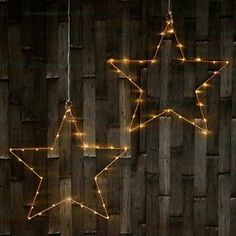 LED Hanging Star Light In Bronze