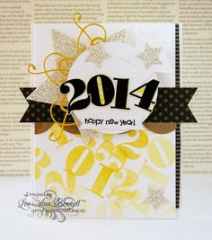Happy 2014! by whippetgirl - Cards and Paper Crafts at Splitcoaststampers