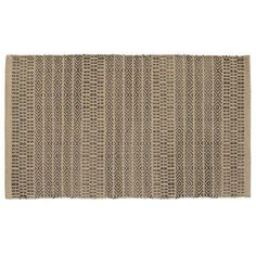 "HFLT Sahara Jacquard Khaki/Gray Area Rug Rug Size: 2'3"" x 3'9"""