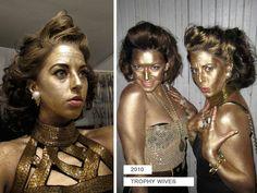 Halloween costume: Trophy Wives
