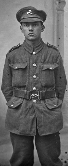 A British WWI soldier on the Western Front - 1 of 4,000 photos uncovered in an attic in Northern France. For much of the war, the small French village of Vignacourt was always behind the front lines – as a staging point, casualty clearing station and recreation area for troops of all nationalities moving up to and then back from the battlefields of the Somme.