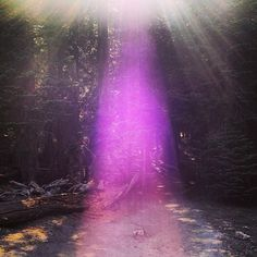 ✨Yosemite National Park✨ wow amazing example of the Rose Ray. This ray is found quite often in Sedona and is supposed to be increasing in it's frequency. It is associated with Mother Mary and is to assist in opening our higher heart chakras and embodies unconditional love and the other energies of the sacred heart ❤tami