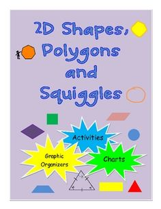 What is a 2D shape? A polygon? Is a square also a rhombus? To answer these questions and more, this colourfully illustrated booklet has graphic org... $4.95