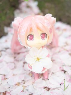 Sakura Miku: Bloomed in Japan by reonov #vocaloid #pink #nendoroid #figure