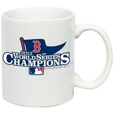 Boston Red Sox 2013 MLB World Series Champions 11oz. C-Handle Mug - White