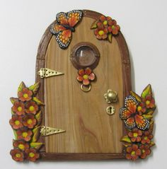 Wood-Effect Fairy Door £15.00