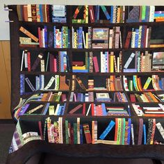 This is a book quilt.