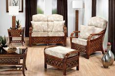 Desser Santiago Conservatory Suite Cane Furniture, Dining Furniture, Conservatory Furniture, Table And Chair Sets, Modern Sofa, Sofa Set, Rattan, Living Room Designs, Armchair