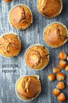 muffiny owsiane ze śliwką i orzechami