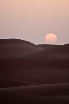 Coucher de soleil . Marroc