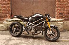 Custom Monster S4RS with Titanium frame