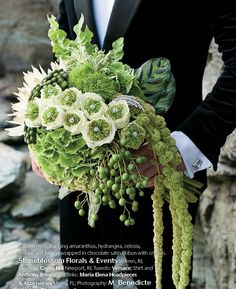 Bouquet via Grace Ormonde Wedding Style