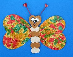 Crafts For Kids, Christmas Ornaments, Holiday Decor, Animals, Spring, Papillons, Crafting, Crafts For Children, Kids Arts And Crafts