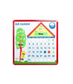 Calendario magnético grande