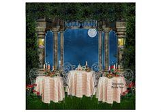 Cena in giardino by mirellaparer   Olioboard