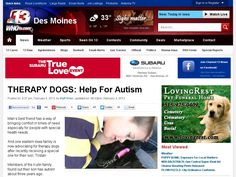 Man's best friend has a way of bringing comfort in times of need especially for people with special health needs.