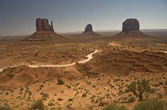 USA / Colorado - Enter of Monument Valley site by Manu Foissotte