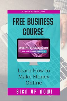 Want to learn how to make money online with an online business? Starting an online business is easy when you know how to start. Learn about online business opportunities and step by step online business ideas. Start A Business From Home, Starting A Business, Business Inspiration, Business Ideas, Make Money Online, How To Make Money, Online Signs, Online Business Opportunities, Tips Online