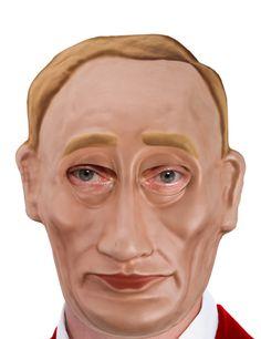 Vladimir Putin Maske aus Karton