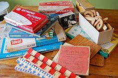 vintage school supplies