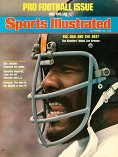 Joe Greene was drafted by the Steelers in 1969 with the No. 4 pick and played all 13 years of his career in Pittsburgh. The defensive tackle was named