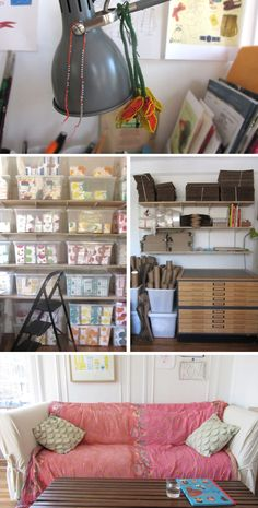 Inside the Designer's Studio with Claudia Pearson - whether you're an established designer or newbie, Claudia has some insightful thoughts on work space, goals and the design process.