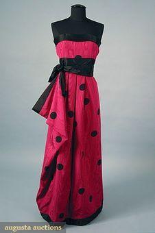 Evening DressBill Blass, 1978Augusta Auctions