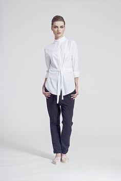 IMRECZEOVA SS16 white shirt