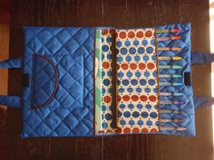 Artist Case - I have the quilted fabric for this and now to find the time to make a couple for the girls.