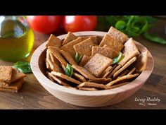 Learn how to make homemade crackers using cassava flour, and my best tips and tricks for making them crunchy and crispy. These homemade crackers are low-carb, vegan and paleo, seasoned with oregano and tomato (pizza crackers). The best gluten-free crackersrecipe - better than store-bought crackers!