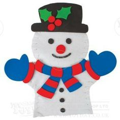 This Christmas puppet making kit contains felt outlines of Santa and a snowman to stitch together through the pre punched holes. The chunky stitching is easy to do for those new to sewing. They can then be decorated with the foam stickers to give them features. - See more at: http://www.toyday.co.uk/shop/seasonal-toys/christmas-toys/make-your-own-hand-puppet/prod_5232.html#sthash.uOvkcKn3.dpuf