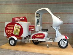 Lambretta. Okay, how can anyone think that isn't really, really cool?