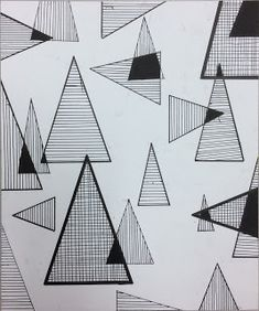 showing examples of asymmetrical design even though it is not an exact reflection of the image it is balanced and using the same shapes through out Radial Balance, Balance Art, Balance Design, Triangle Drawing, Geometric Shapes Drawing, Elements Of Design Shape, Elements Of Art, Composition Drawing, Composition Design