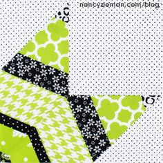 Nancy Zieman 2015 Adventure Quilt | Block of the Month | Quarter Lone Star