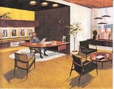 Mid-century office