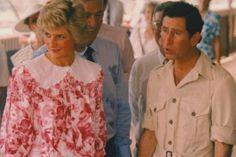 1988-02-03 Diana and Charles visit a Crocodile Farm at Noonamah in Darwin