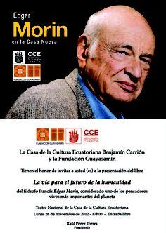 En Quito Ecuador conferencia en el Teatro Nacional de la CCE