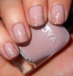 Imperfectly Painted: Way-Cool Mani Wednesday: Sparkling & Soft