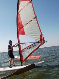 Obozy windsurfingowe. #plaża #woda #morze #słońce #zabawa #wakacje