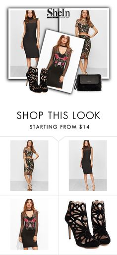"""Shein 8/ II"" by ajisa-ikanovic ❤ liked on Polyvore featuring Karen Millen"