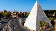 Pirámide de Cestio Roma