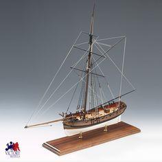 Amati Lady Nelson wooden ship model kit Wooden Model Boat Kits, Wooden Model Boats, Wooden Boats, Plywood Boat Plans, Wooden Boat Plans, Model Ship Kits, Model Ships, Model Ship Building, Boat Building