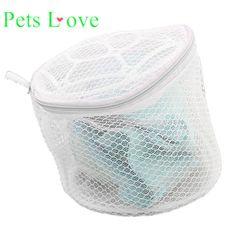 Animal de estimação adorável New Lingerie Underwear Bra Meia Lavanderia Ajuda Lavagem Net Saco Zip Malha Rosa 922