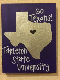 Tarleton State University canvas wall art by CanvasGlitterLady                                                                                                                                                                                 More