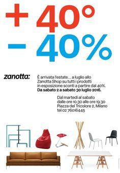 Zanotta è una delle aziende protagoniste del design italiano fin dagli anni '60. Nella sua storia ha creato prodotti iconici conosciuti in tutto il mondo disegnati da alcuni dei maggiori tale…