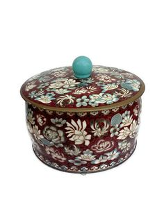 Collectible Decorative Tin Made in England by WeeLambieVintage, $6.60