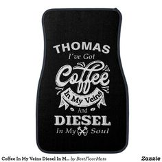 Shop Coffee In My Veins Horticulture Soul Personalized Car Floor Mat created by BestFloorMats. Christmas Gifts For Adults, Best Christmas Gifts, Car Mats, Car Floor Mats, Christmas Shopping List, Cool Car Accessories, Photographer Gifts, Colorful Backgrounds, Initials