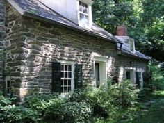 What keeps a rubble stone building like this healthy is periodic repointing of the joints with mortar that is no harder than the stones, bri...