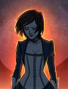 Bioshock Infinite : Elizabeth... Hey, uh... You look a little sad, ma'am XD…